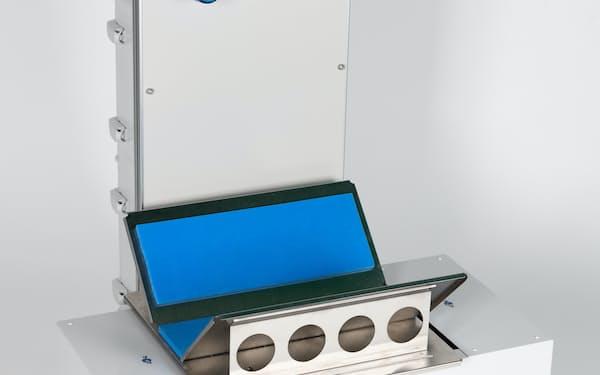 TGESが開発したガソリンなどの引火性が強い液体を検知する装置