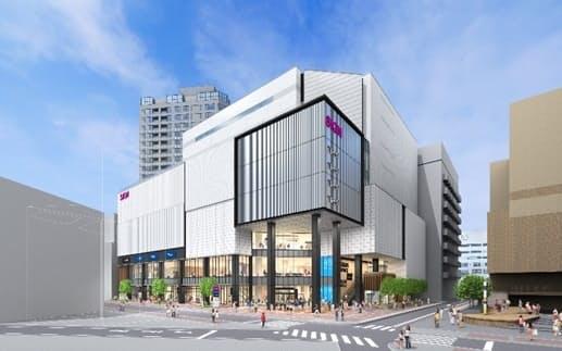 ダイエー横浜西口店跡地にイオンモールが入る複合施設を建設する(写真はイメージ)
