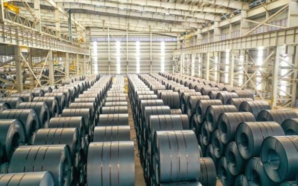 ホアファットは熱延コイルの生産量を引き上げる(同社提供)