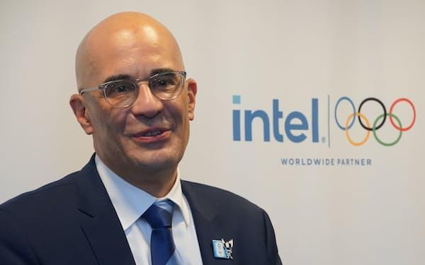 インテル副社長のリック・エチェバリア氏