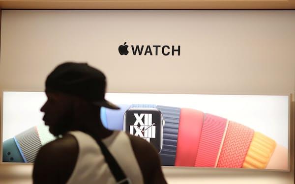 ロサンゼルスのアップルの新店舗(6月下旬)=ロイター