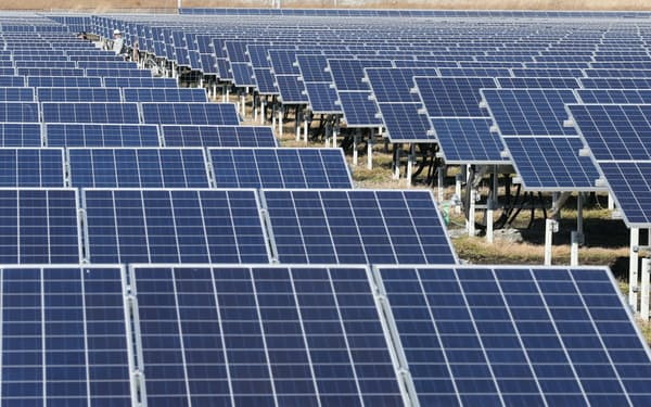 再生可能エネルギーの比率を2倍近くに引き上げる。
