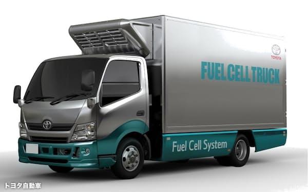 トヨタ自動車が開発を進めるFCトラック(トヨタ自動車提供)
