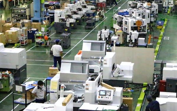 工作機械は北米や欧州向けの受注は好調が続いている
