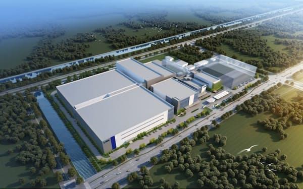 中国の江蘇省に新工場を建設する(イメージ図)