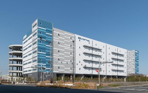 JR貨物は貨物駅構内や近くに物流拠点を増やし鉄道利用を促す(物流施設の東京レールゲート)