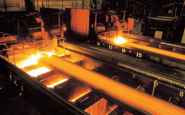 世界経済の回復に伴う鉄鋼販売価格の上昇によって大幅増益を達成した
