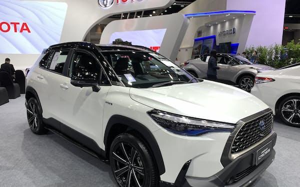トヨタにとってタイは海外で3番目に大きい生産拠点だ(3月、バンコク)