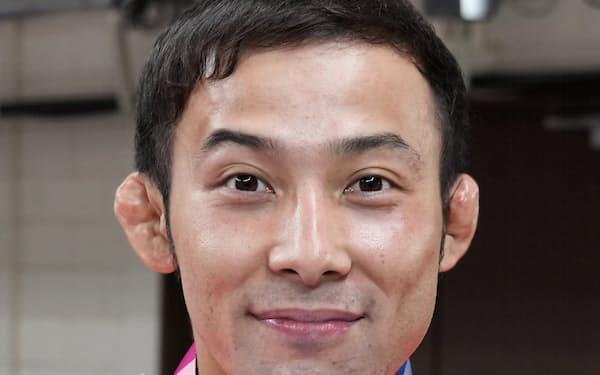 高藤直寿選手(日本武道館)=共同