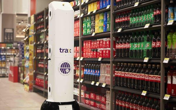 トラックスは顧客企業が商品の欠品や在庫の状況を常時把握できるシステムを提供する=会社提供
