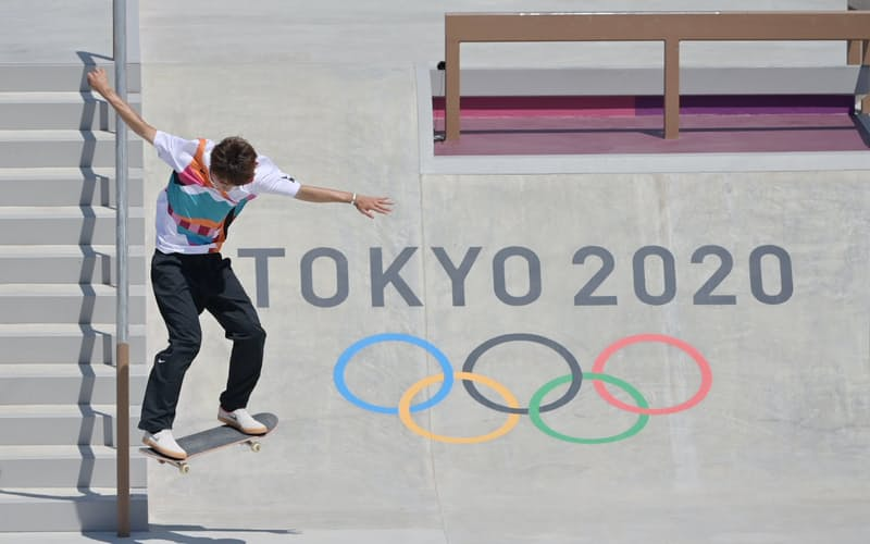 堀米雄斗は五輪の新種目スケートボードで初代王者になった