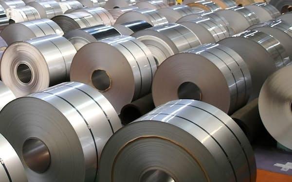 ステンレス原料に使うニッケルの需要が回復してきた。