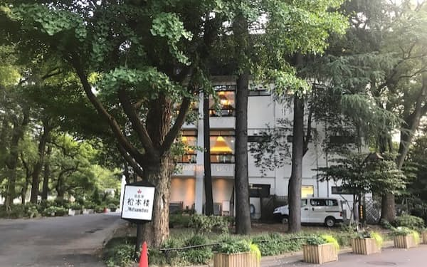 三井不動産が出資した日比谷松本楼
