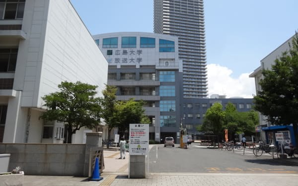 法学部の移転先となる東千田キャンパス(広島市)