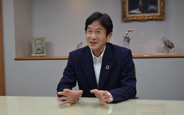 日清紡HDの村上雅洋社長