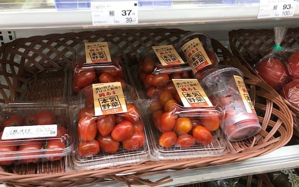 サントリー系がてがけるトマト「純あま」