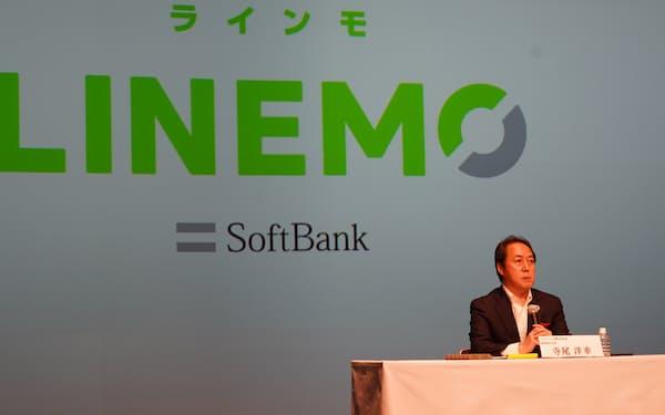 ソフトバンクでLINEMO事業を担当する寺尾洋幸氏