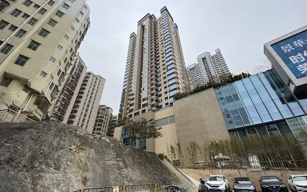 公共賃貸住宅が入るマンション(広東省深圳市)