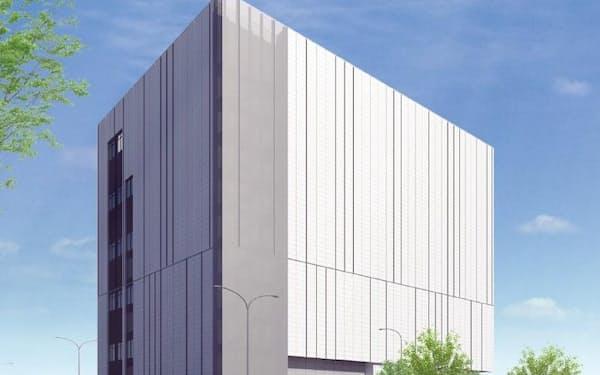 中外製薬は555億円を投じ、次世代薬の原薬製造棟を建てる。