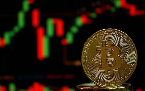 ビットコインの価格が26日に急上昇した=ロイター