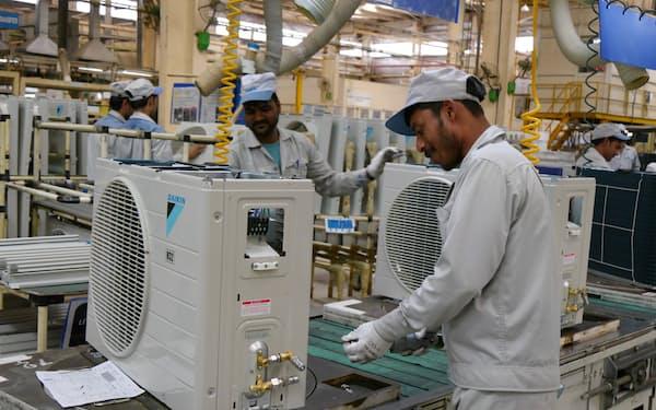 ダイキン工業はインドを主要生産拠点の1つに育てる方針