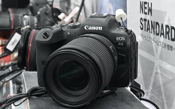フルサイズミラーレスカメラの新製品が好調