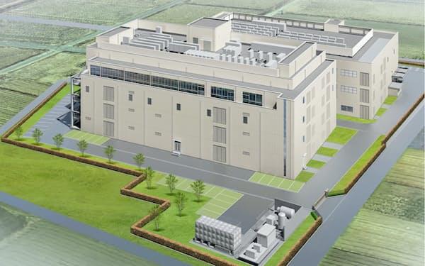 光源を手掛ける新工場棟(手前、写真はイメージ)