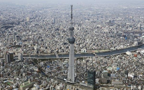 東京は就職や入学に向けた流入が落ち着き、再び転出超過が続く
