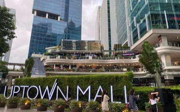 メガワールドは都市開発に定評がある(マニラ首都圏のアップタウンモール)