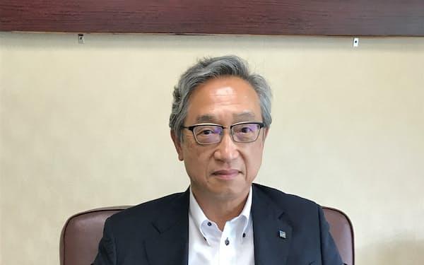 岡社長はデジタル化などに取り組む考えを示した
