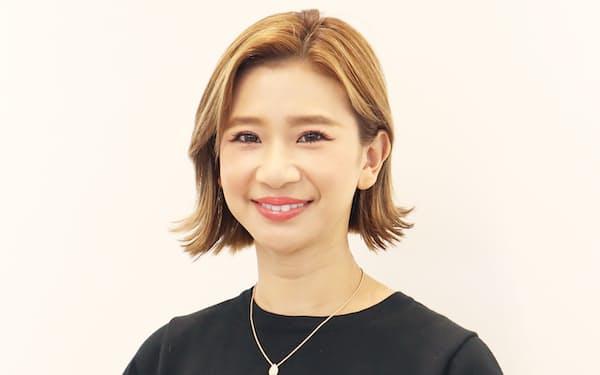 レセプショニストの橋本真里子CEO