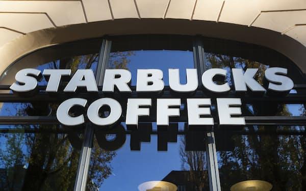 スターバックスの2021年4~6月期決算は、既存店売上高が73%増と好調さを示した=AP