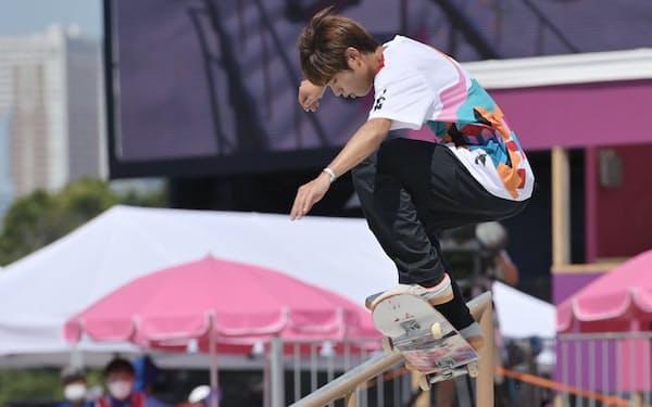 スケートボードは大会後半のパーク種目でもメダルが期待できる(写真はストリート金の堀米雄斗)