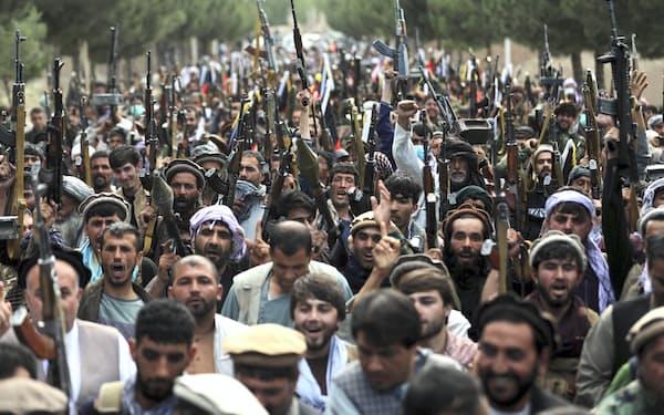ロシアは米軍がアフガニスタンから撤退するのを機に影響力を強化しようともくろむ=AP