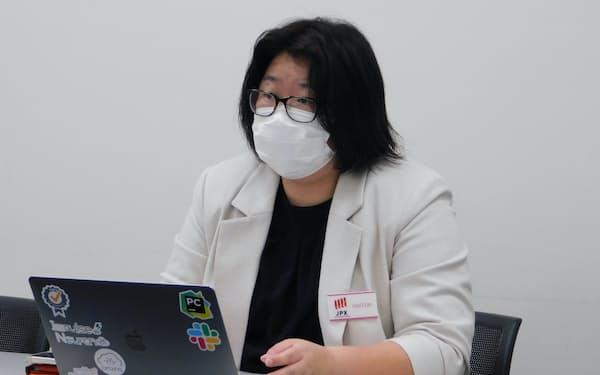 ブレインズテクノロジーの斎藤佐和子社長(28日)