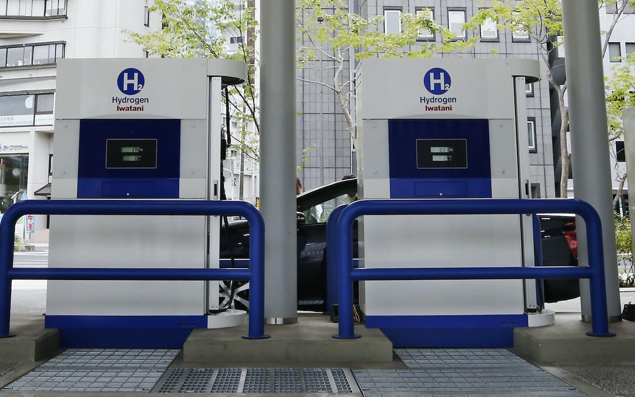 岩谷産業の水素ステーション