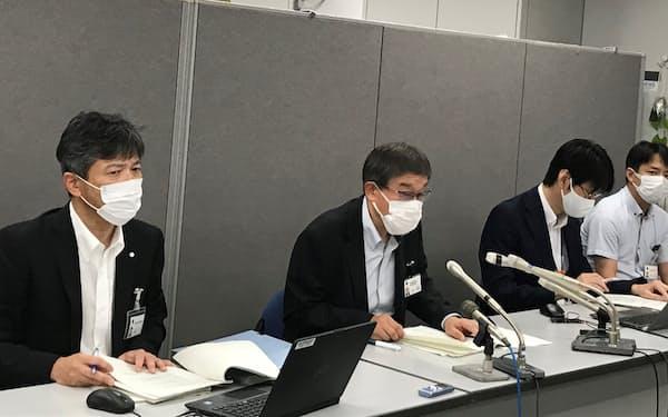 県の感染症対策課は変異ウイルスの拡大や1都3県の感染急増を理由に挙げた