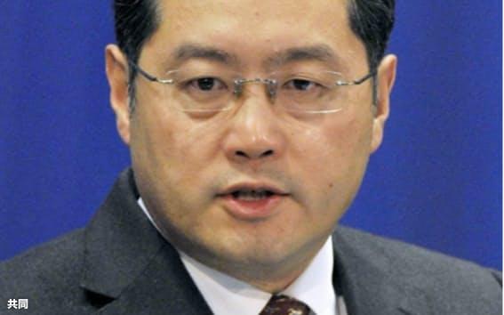中国駐米大使に起用された秦剛氏(共同)
