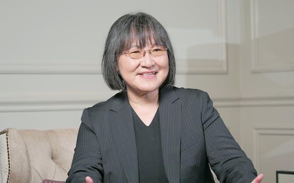 NIKKEI脱炭素(カーボンzERO)委員長の高村ゆかり氏