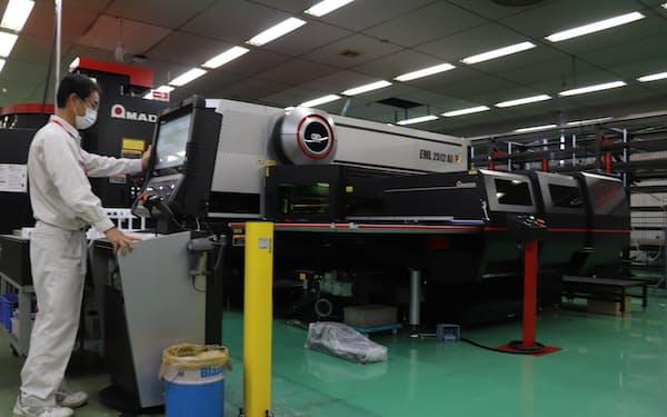 ミマキエンジは子会社の設備投資で、加工事業の強化を狙う