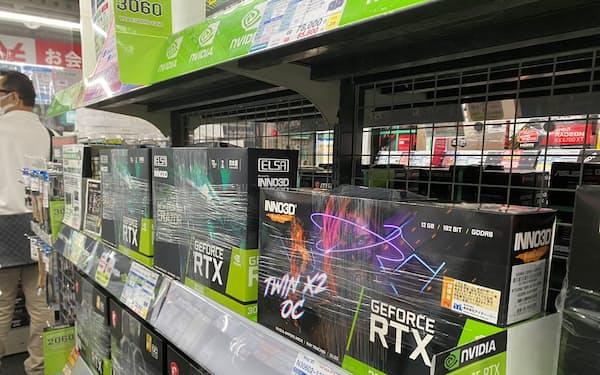 仮想通貨の下落でビデオカードの在庫が増えてきた(東京都千代田区のTSUKUMO eX.)