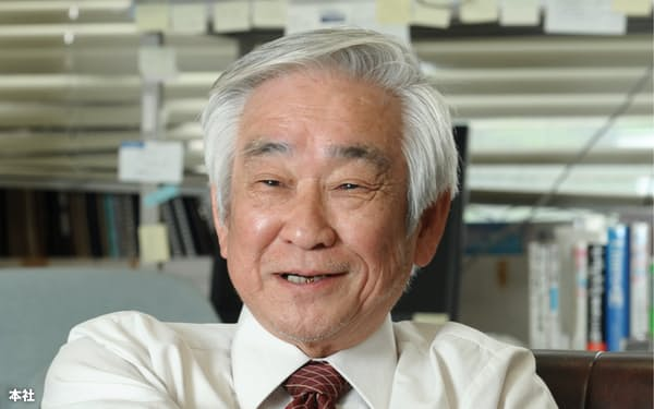 益川敏英さん