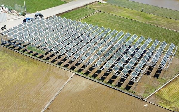 小田原かなごてファームの営農発電所