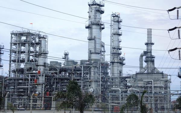 タイオイルがタイ東部チョンブリ県に構える工場