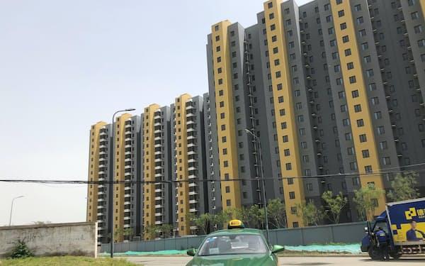 北京市郊外の新築マンション