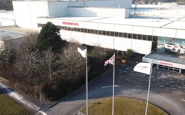 ホンダは欧州で唯一の完成車工場の英国工場を閉鎖