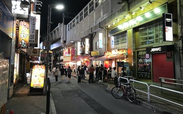新型コロナ禍で外食産業は打撃を受けてきた(7日、東京都台東区)