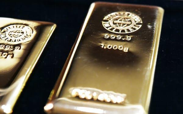 米国で金現物の需要が増えた