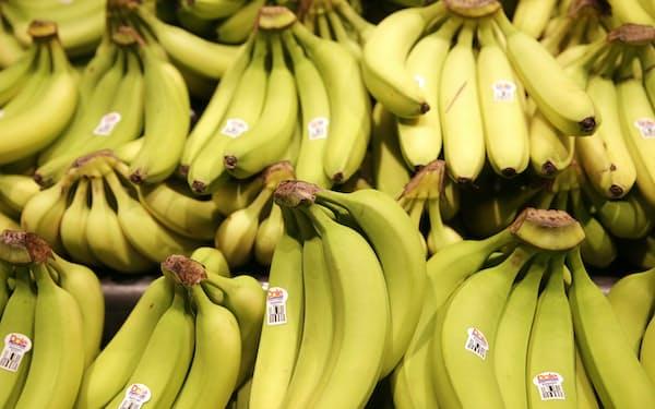 ドールは世界最大級のバナナの生産・販売で知られる=ロイター