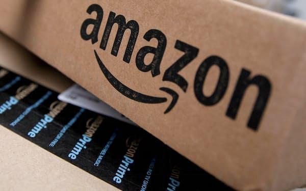 アマゾンの売上高は11四半期ぶりに市場予想を下回った=ロイター